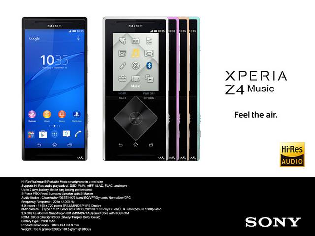 Sony-Xperia-Z4-Music