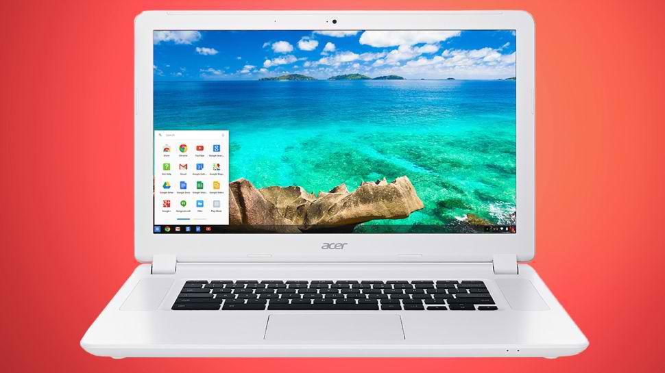 Acer Chromebook 15 - un laptop mare cu procesor Core i5