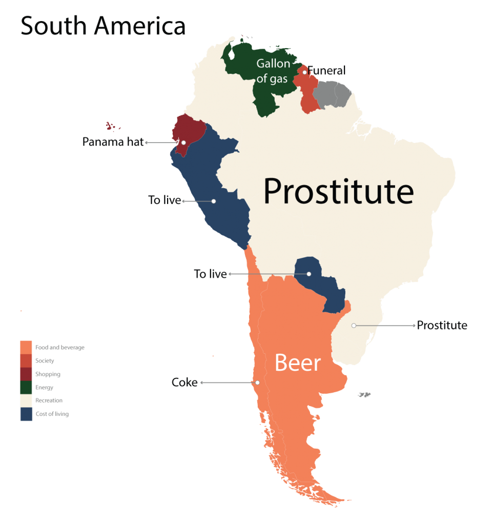 Ce cauta sud-americanii pe Google
