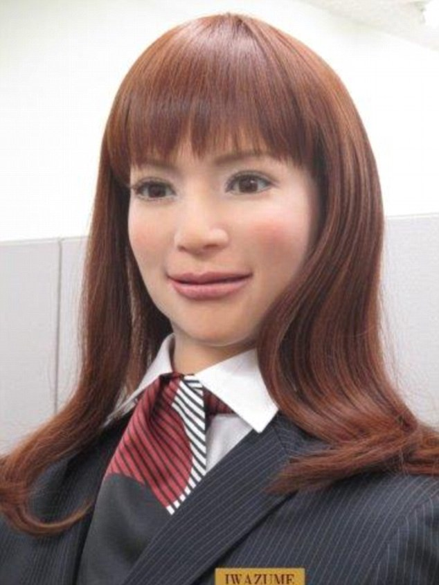 Robot receptioner in Henn-na Hotel