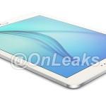 Apare o imagine cu tableta Galaxy Tab S2