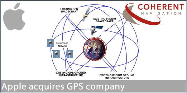 Apple a cumparat o companie care se ocupa cu sisteme GPS de foarte mare precizie