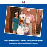 Hillary Clinton are o pagina de eroare 404 cu adevarat inedita