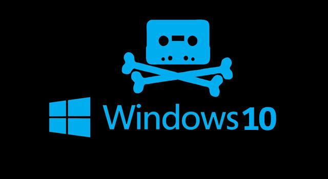 Instalarile piratate de Windows 10 vor avea pe ecran un watermark