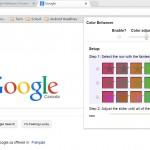 O extensie Google Chrome ii ajuta pe unii sa vada culorile