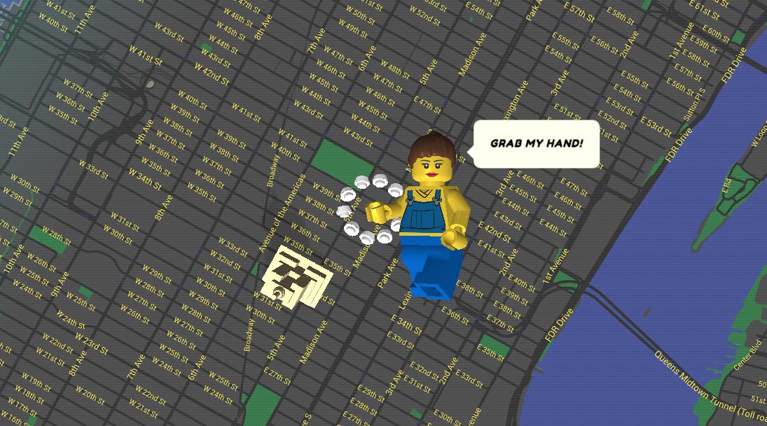 O varianta Lego a Google Street View