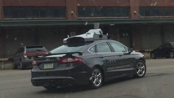 Uber este cu un pas mai aproape de masinile fara sofer