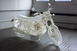 Un individ a printat 3D o replica a motocicletei Honda CB500 din 1972