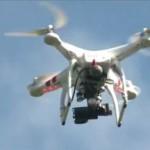 Un parinte isi urmareste fiica cu o drona