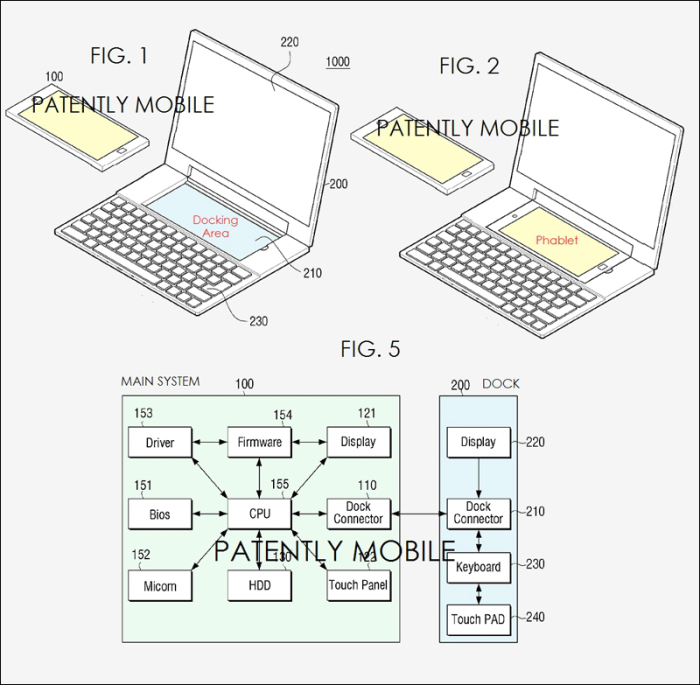 Un patent Samsung iti permite sa-ti transformi smartphone-ul Android intr-un laptop Windows