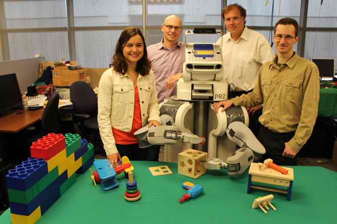 Un robot care invata din greseli