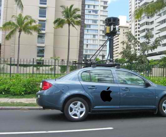 Apple pregateste un rival pentru Google Street View