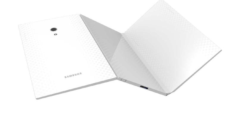 Asa ar putea arata tableta pliabila a Samsung