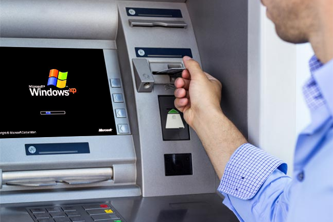 Bancile se pregatesc sa-si actualizeze bancomatele, dar nu la Windows 8