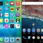 Care platforma dintre iOS 9 si Android M este mai rapida?