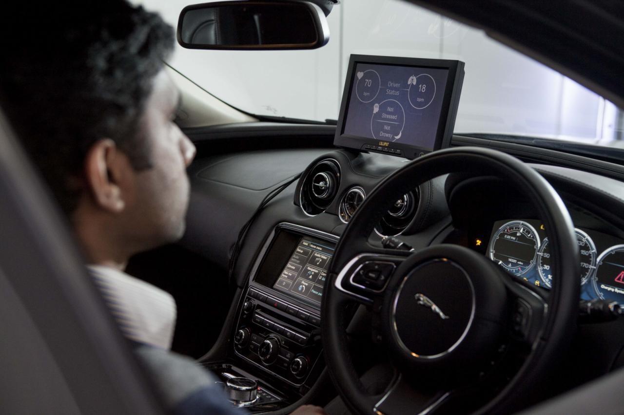 Jaguar foloseste o tehnologie NASA pentru a monitoriza undele cerebrale ale soferilor
