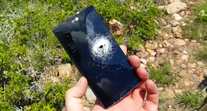 LG G4 este impuscat intr-un nou test de tortura