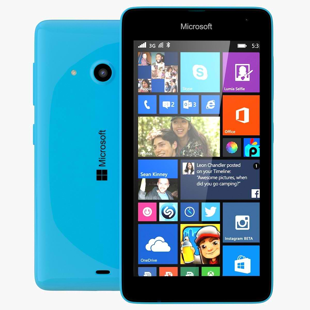 Lumia 535 a triplat vanzarile de smartphone-uri Windows Phone in Pakistan