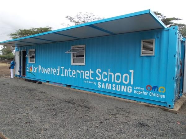 Scolile alimentate solar ale companiei Samsung