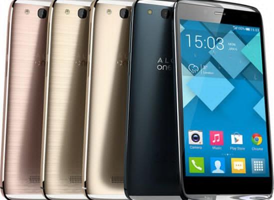 Cele mai mari reduceri la telefoane mobile si smartphone-uri - Alcatel ONETOUCH Idol Alpha