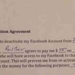 O tanara a primit 200 de dolari pentru a renunta la Facebook