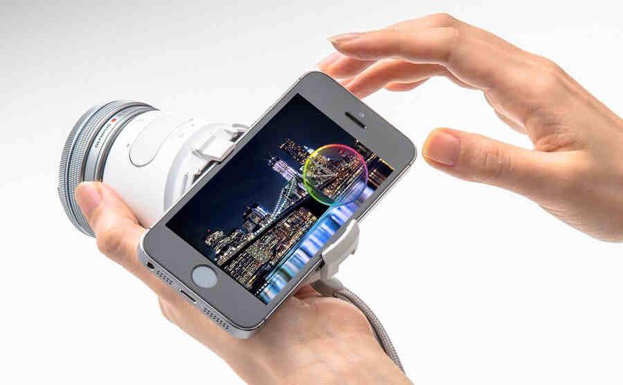 Olympus AIR A01 - un obiectiv de camera care poate fi controlat cu ajutorul smartphone-ului
