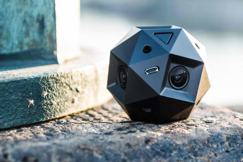 Sphericam 2 filmeaza clipuri video la 360 de grade 4K pentru realitate virtuala
