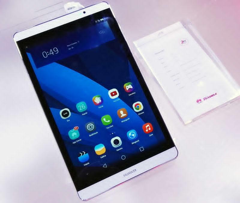 Tableta Huawei MediaPad M2 a fost dezvaluita - specificatii oficiale