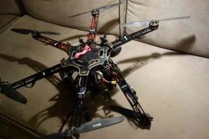 Un barbat a platit pentru ca i-a impuscat drona vecinului