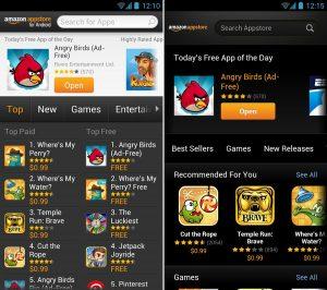 Cele mai bune alternative la Google Play Store - Amazon Appstore