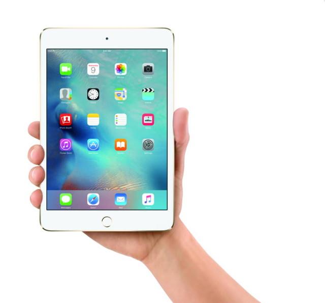 Displayul lui iPad mini 4 il depaseste pe cel al lui iPad Pro