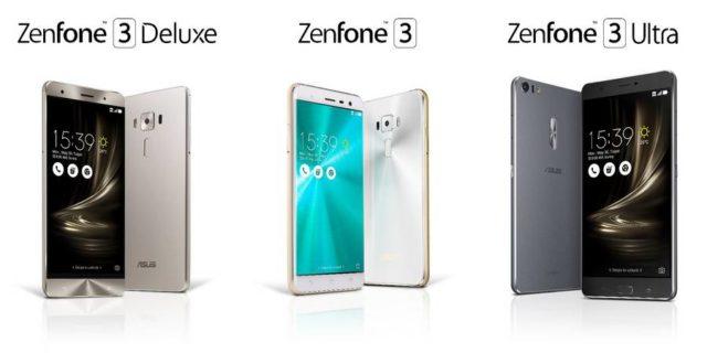 ASUS anunta smartphone-urile ZenFone 3, ZenFone 3 Deluxe si ZenFone 3 Ultra