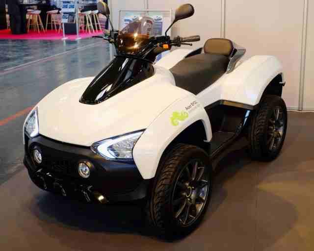 Acer a dezvoltat un ATV electric
