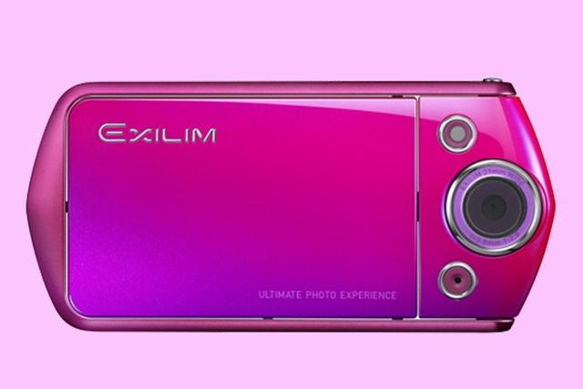 Camera pentru selfie-uri Casio Exilim TR costa o suma mare