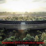 Campus 2 al Apple capturat in rezolutie 4K