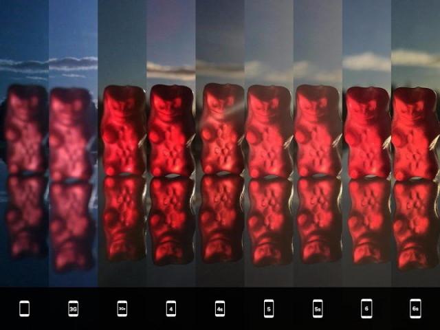 Comparatia camerelor iPhone-urilor de-a lungul anilor