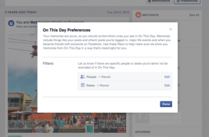 Facebook iti permite acum sa eviti nostalgia dureroasa