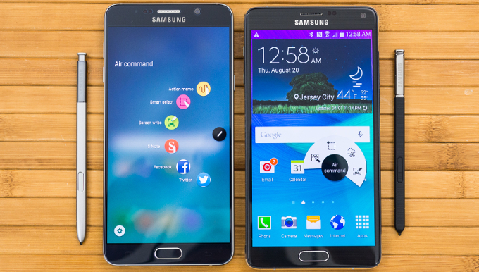Galaxy Note 5 si Galaxy S6 Edge au avut un start mai bun decat Galaxy Note 4