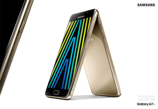 Gama de smartphone-uri Galaxy A (2016) vine cu design premium si caracteristici mai bune