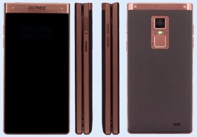 Gionee W909 este primul smartphone tip clapeta cu senzor pentru amprente digitale