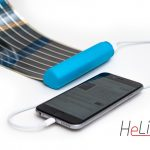 HeLi-on este un incarcator solar care iti incape in buzunar