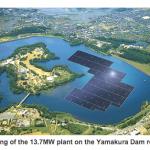 Japonia construieste cea mai mare centrala de energie solara plutitoare din lume