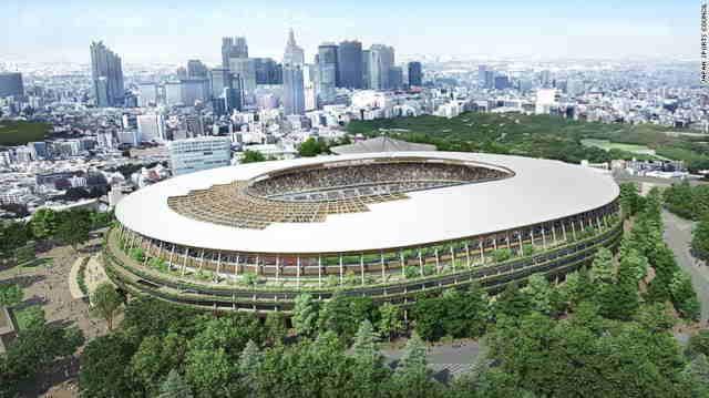 Japonia dezvaluie designul stadionului sau pentru Olimpiada din 2020
