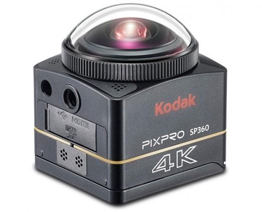 Kodak anunta camera PixPro SP360-4K care filmeaza la 360 de grade