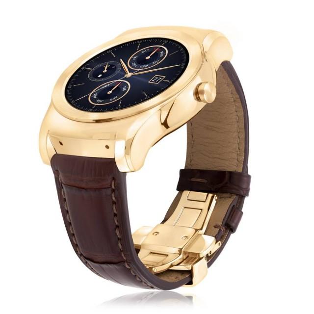 LG Watch Urbane Luxe din aur de 23 de carate a fost anuntat