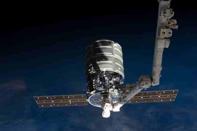 Lansarea navei spatiale Cygnus a fost capturata in 4K