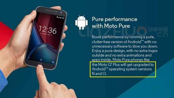 Moto G4 Plus va putea fi actualizat la Android O