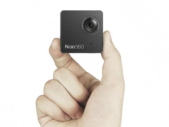 Nico360 vrea sa fie cea mai mica camera care filmeaza la 360 de grade din lume