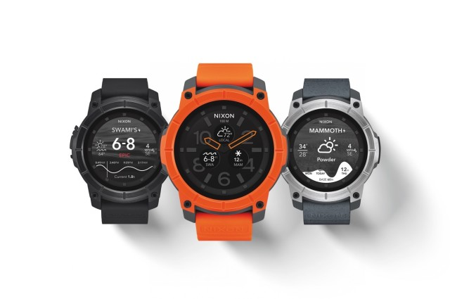 Nixon Mission este un smartwatch Android Wear robust