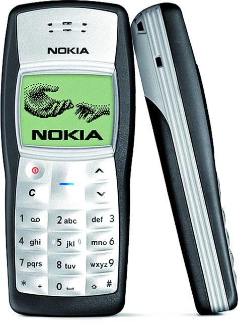 Nokia 1100 este cel mai bine-vandut telefon din lume